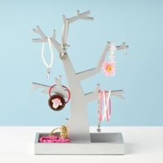Gift Idea: Fancy Branches Jewelry Tree - Silver