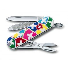 "Victorinox Classic SD ""VX Colours"" Swiss Army Knife - Victorinox from SwissArmy365 UK"