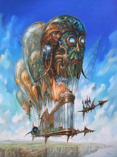 * Jaroslaw Jasnikowski - - - De navigator met ogen die blauwe gloed - 2010
