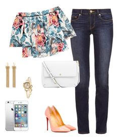 """""""Untitled #4"""" by liz-chirinos-godoy on Polyvore featuring Tory Burch, Elizabeth and James, Christian Louboutin and Chloé"""