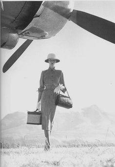 1951, safari chic.  #Travel