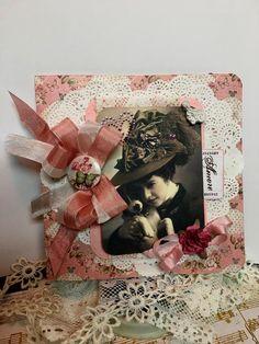 Edwardian Valentine    Elegant Greeting or by AshbrookeSalutations