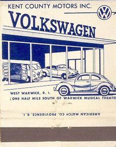 Cerillos Volkswagen: sólo para vocheros coleccionistas
