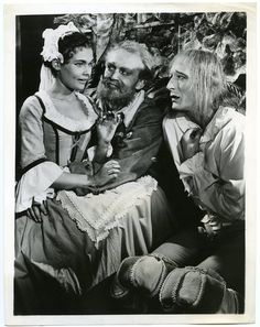 Judi Dench, John Neville and Joss Ackland in Twelfth Night at The Old Vic