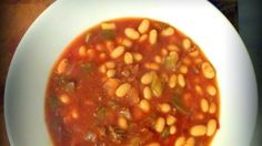 Kuru Fasulye – Turkish white bean stew. Serve with pickles.