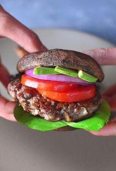 Whole30 Day 14: Big-O Bacon Burgers - Nom Nom Paleo®