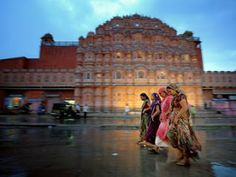 Palace of the Winds (Hawa Mahal) Jaipur, India