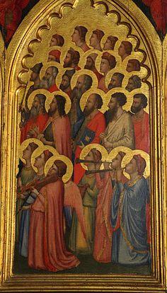 Giotto - Polittico Baroncelli - (dettaglio) - c.1334 - Cappella Baroncelli - Basilica di Santa Croce a Firenze