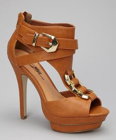 Take a look at this Camel Trey110 Stiletto by Wild Rose on #zulily today!