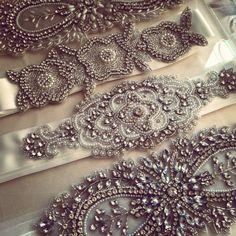 kirsten kuehn designs bridal sashes