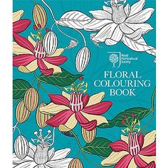 RHS Floral Colouring Book   Gifts & Gadgets   Qwerkity   £12.99