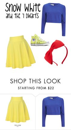 """""""Modern Snow White"""" by fan-girl-fashions on Polyvore featuring QNIGIRLS, Lavish Alice, Kate Spade, Converse and modern"""