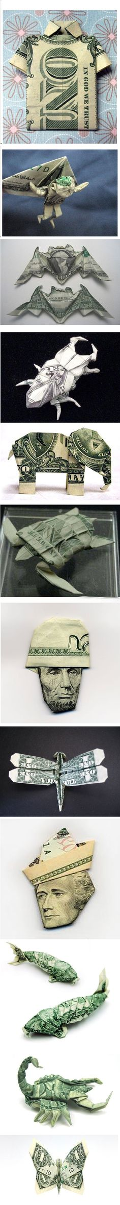 Money always has random uses!