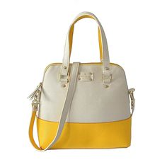 Kate Spade Grove Court Maise Beige With Yellow ABN - $74.98: Save Up to 70% Off!!