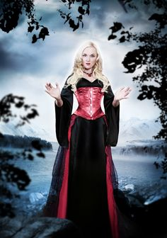 Dress.. Liv Kristine from Leaves' Eyes.