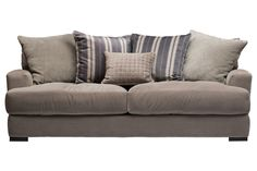 The Carlin Microfiber Sofa by Jonathan Louis is an oversized retreat for your living room! You could take some epic naps on this awesome sofa. Get it at Gardner-White! #SofaEnvy