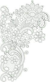 Sue Box Creations | Download Embroidery Designs | Classic Lace Collection Large Designs