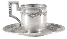 Russian Silver Teacup