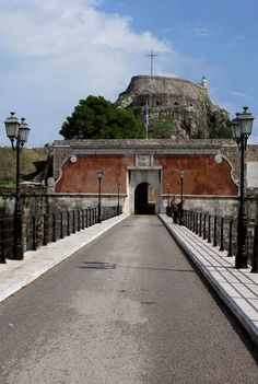 The Fortress Entrance of Corfu Town, Corfu Island