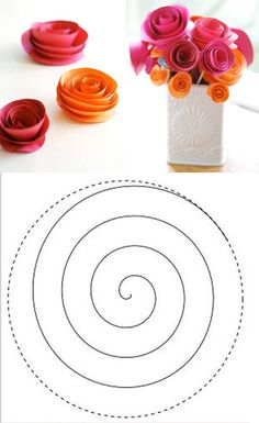 DIY Paper Flower Bouquet DIY Projects | UsefulDIY.com Follow Us on Facebook == http://www.facebook.com/UsefulDiy