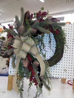 Christmas/winter wreath by kyong