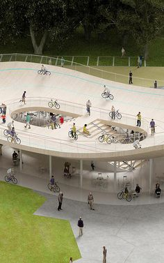 A Cafe Where You Can Ride Your Bike On The Roof | Co.Design | business + design
