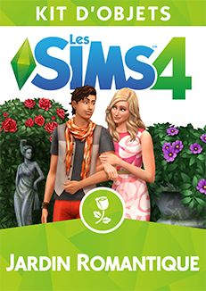 Les Sims™ 4 Kit d'Objets Jardin Romantique - Site officiel