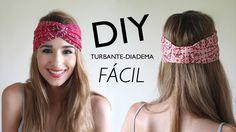 DIY: Cómo hacer turbantes-diadema (con y SIN MÁQUINA DE COSER)