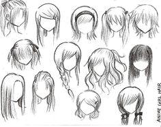 32 ausmalbilder kostenlos – Anime Haare Anime Haare von Pixieprincessp auf deviantART – vol 341 | Fashion & Bilder