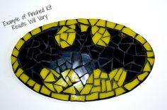 Star wars inspired mosaic kit by brokenartmosaic storm trooper diy batman inspired mosaic kit by brokenartmosaic do it yourself kit bat signal batman logo superhero birthday solutioingenieria Choice Image