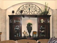 You can have faux iron custom made to place anywhere in your home