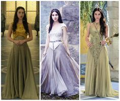 Love these dresses from Reign
