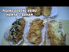 Harga 1000an!!! Pisang Goreng Terbaru ini Lagi Hits - YouTube Lava Cakes, Food Packaging, Baked Potato, Oreo, I Am Awesome, Food And Drink, Snacks, Make It Yourself, Ethnic Recipes