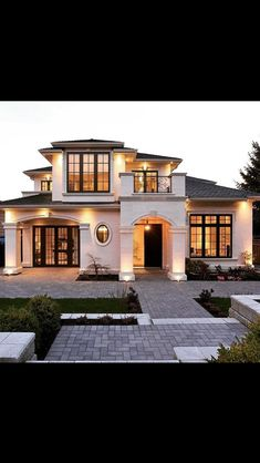 I love the exterior of this house