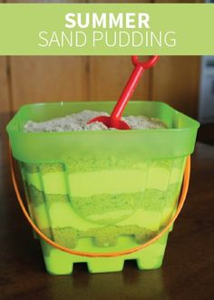 Summer Sand Pudding is the perfect kid-friendly dessert for any party or outdoor barbecue. Or make it at the beach with your kids for a quick and easy treat to end your day with.