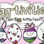 """The weeks leading up to Easter will have your kids hoppin' with learning with these """"Egg-tivities!""""  All you need is a supply of plastic eggs to ge..."""