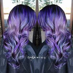 #pretty #purple #hair