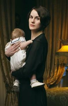 Series Four: Widowed Mary with little baby GEORGE..first time I've gotten a name for Baby