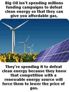 I would think that this is abundantly obvious to everyone. But just in case. Our Planet, Save The Planet, Planet Earth, Charlotte Nc, Save Our Earth, Big Oil, Renewable Sources Of Energy, Our Environment, Timeline Photos