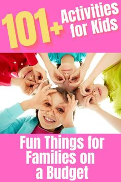 Your family can keep busy without big expenses with these fun and affordable activities for kids on a budget. We have something to do for all ages! Fun Games For Kids, Indoor Activities For Kids, Craft Activities For Kids, Family Activities, Learning Activities, Social Challenges, Cool Kids, Kids Fun, Parent Resources
