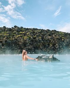 A beautiful day at the Blue Lagoon is a memory that will last a lifetime 💙 Blue Lagoon, Beautiful Day, Iceland, Relax, Memories, Ice Land, Memoirs, Souvenirs, Remember This