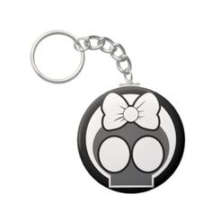 Skully Keychains - #halloween theme keychain