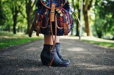 ASOS aztec backpack, 30 EUR