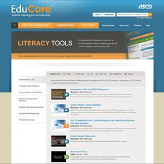 EduCore is ASCD's digital tool for educators implementing the Common Core State Standards in both mathematics and literacy.