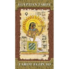 Egyptian Tarot - I'm not crazy about Lo Scarebo's offerings in general, but this one's pretty solid.