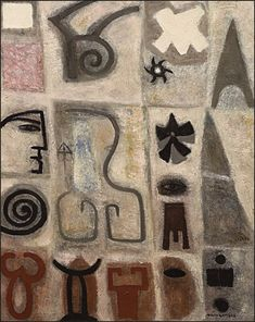 The Pictographs of Adolph Gottlieb (1903-1974) - Art Before Sleep