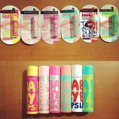 Maybelline Baby Lips<3 I have one #babylips #beautyandmakeup