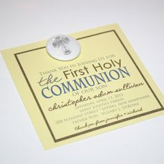 10 First Holy Communion favors   Want Buttons by Wantbuttons, $15.00