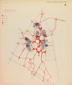 Competition University, Vienna 4, 1974 Traffic system