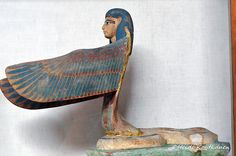"""© Heidi Kontkanen. Winged goddess. Neith as a winged serpent. 18th dynasty, from Valley of the Kings - Tomb of Amenhotep II KV35. CG 24629. Upper floor, room 12"" ^**^"